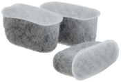 3 Activated Charcoal Water Filters Replace Capresso 4640.93