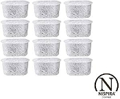 12 Charcoal Water Filters Replace Cusinart Coffee Maker DCC-RWF