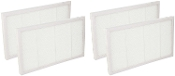 4 Air Cleaning Filters For 3M Filtrete FAP01-RMS and FAP02-RMS