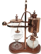 A Vintage Belgium Syphon Coffee Maker in Copper